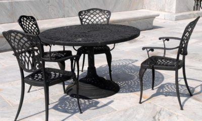 Tips for identifying cast iron rattan garden furniture
