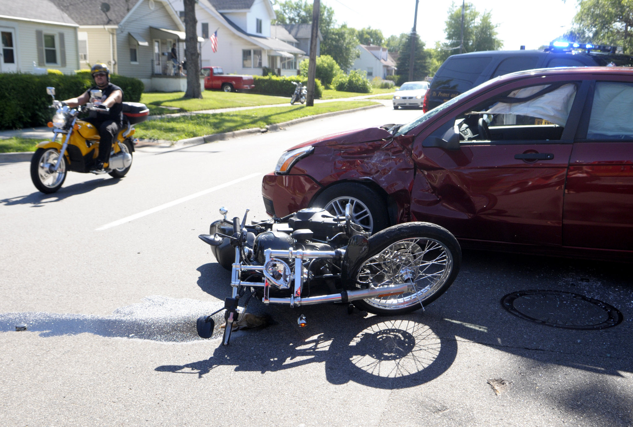 What Should You Do After A Motorcycle Accident The Vistek